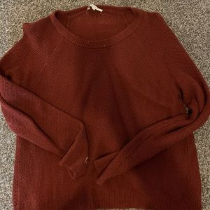 Madewell thick open back sweater